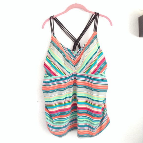Pure Energy Other - Pure energy Target 22W striped tankini top